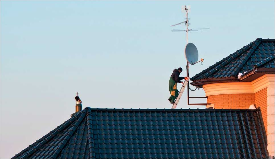 спутниковая антенна 1